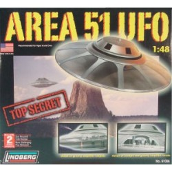 Model plastikowy - Area 51...