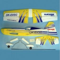 Extra 330SC ARF 1000 Yellow...