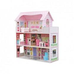 Domek dla lalek Drewniany,...