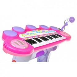 Różowe Organki Keyboard -...